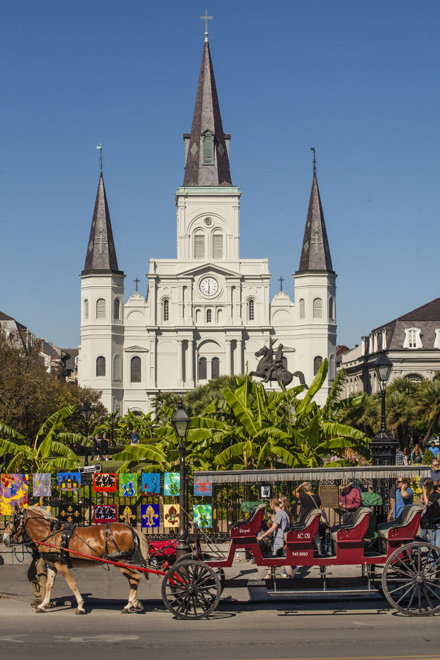 St. Louis Kathedraal Jackson Square New Orleans