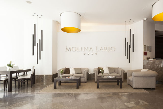 Molina Lario Malaga lobby
