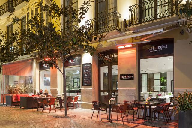 Molina Lario Malaga café