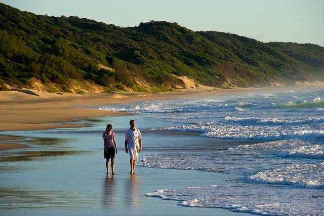 Strandverlenging aan de kust van Kwazulu Natal in Zuid-Afrika   AmbianceTravel