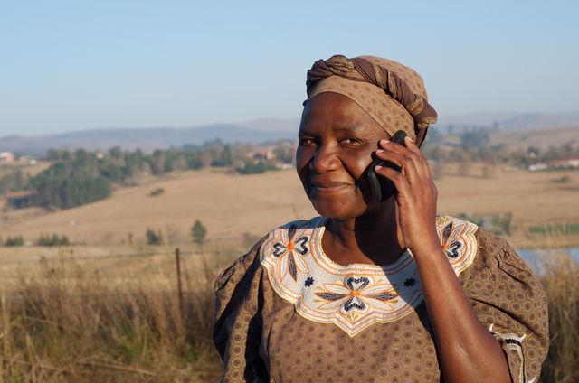 rondreis zuid-afrika Kwazulu-Natal portret vrouw