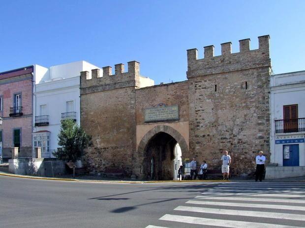 Tarifa oude binnenstad ingang Andalusië