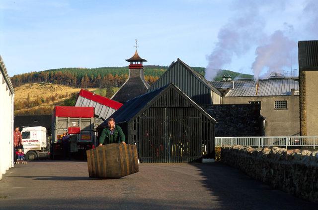 Glenfiddich Distilleerderij Schotland