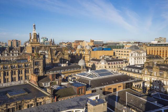 Stad Glasgow Schotland