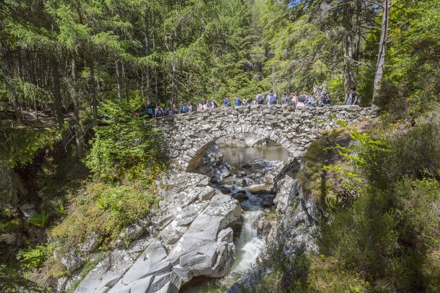 Waterval Bliar Antholl Schotland