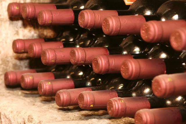 Rondreis Italië Slowfood flessen wijn