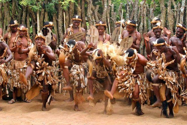 rondreis zuid-afrika zululand dansers