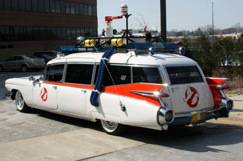 Ecto 1 from Ghostbusters