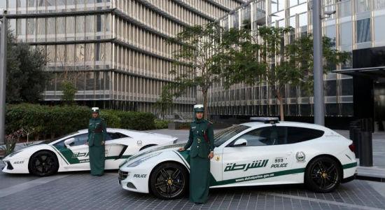 Ferrari Dubai police car