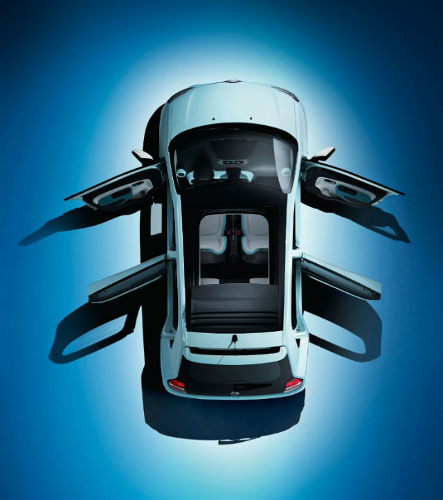 New Renault Twingo from above 2014