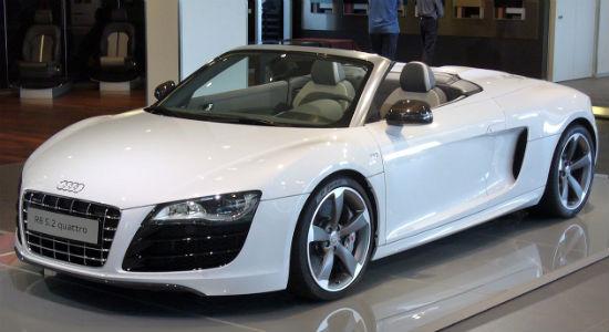 Iron Mans Iconic Supercar Collection Revealed - Audi car garage
