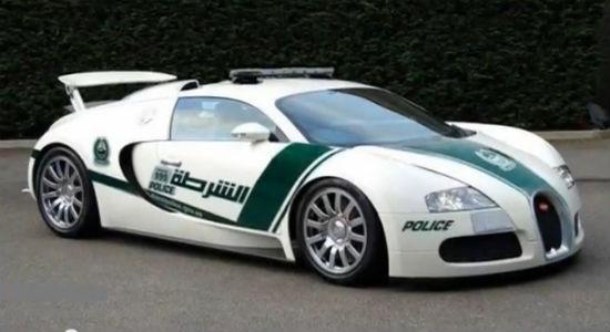 Bugatti Veyron Dubai police car