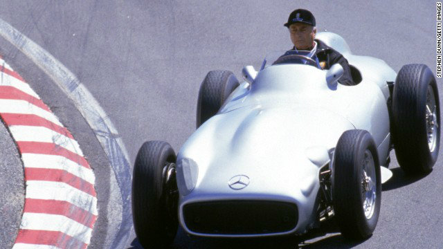 1954 Mercedes-Benz race car