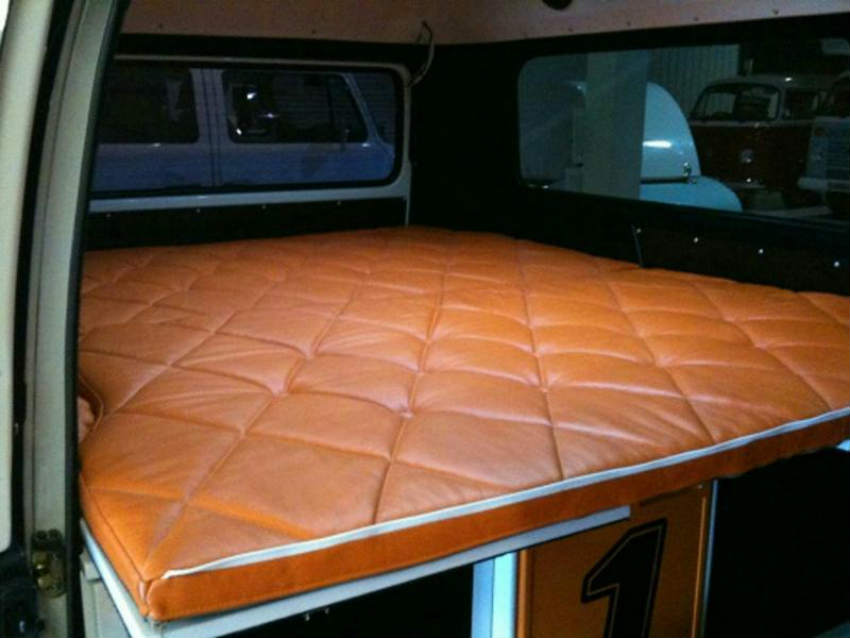 Danbury Motorcaravan's Project 1 - Interior with bed