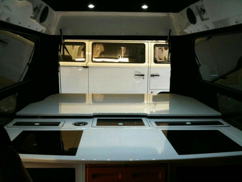 Danbury Motorcaravan's Project 1 - Interior