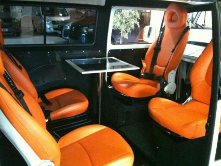 Danbury Motorcaravan's Project 1 - Interior with seats