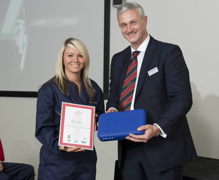 Nicole Gallagher Princes Trust GTG Modern Apprentice