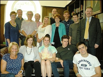 Sidcot students and teachers celebrate A level exam success