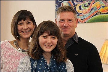 Sidcot student Jade Corbett achieved 10 A* and 3 A at GCSE