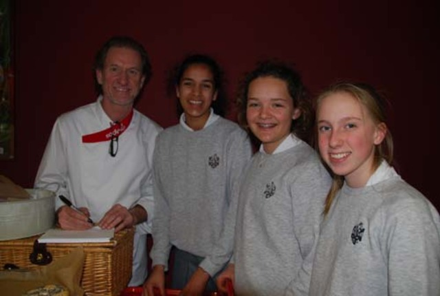 Visit by Chef Paul Rankin