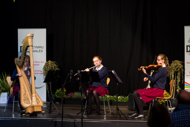 Musical trio performs for Royalty at Diamond Duke of Edinburgh Showcase