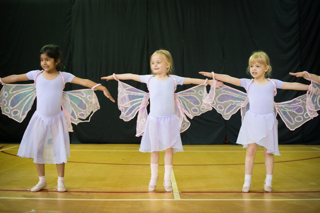 Ballet for early years is a popular dance class