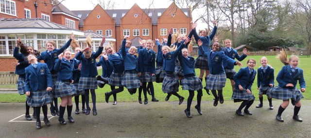 Year 6 Leavers - playground - jumping