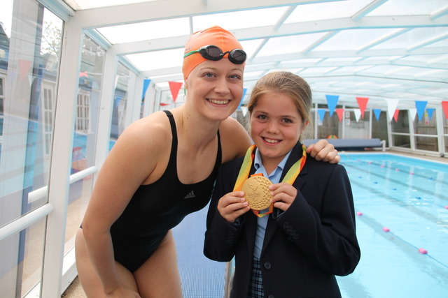 Paralympic Gold Medalist Visits Cranford House