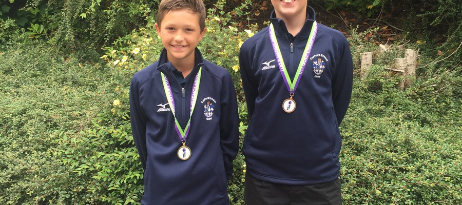Josh and henry medal