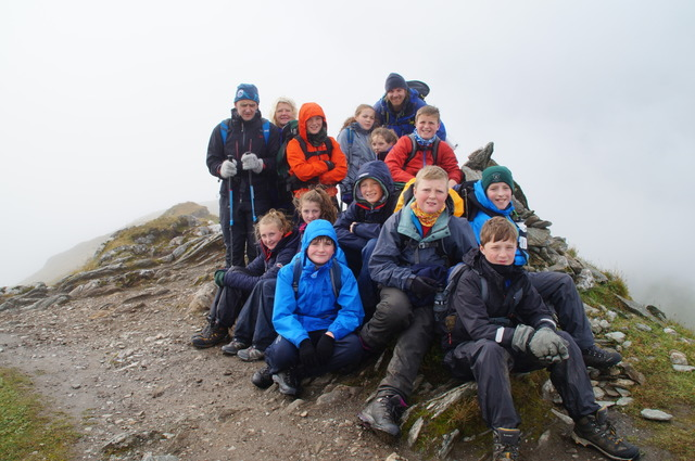 Summit of Meall Garbh