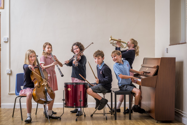 The Prep school has its own dedicated music department and pupils have an opportunity to try a variety of different instruments