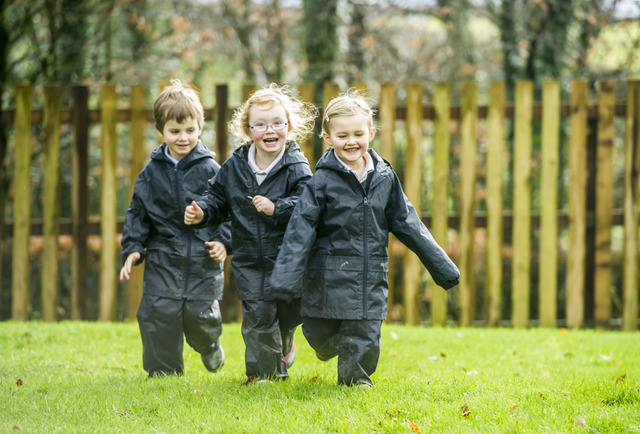 Pupils are allowed to grow up in their own time, benefitting from the stunning countryside and healthy environment
