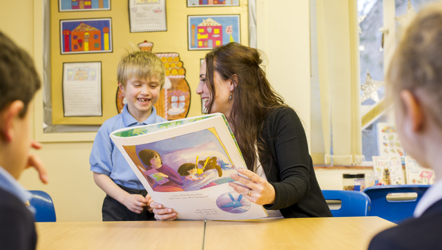 Children benefit from small class sizes and are supported throughout their academic journey