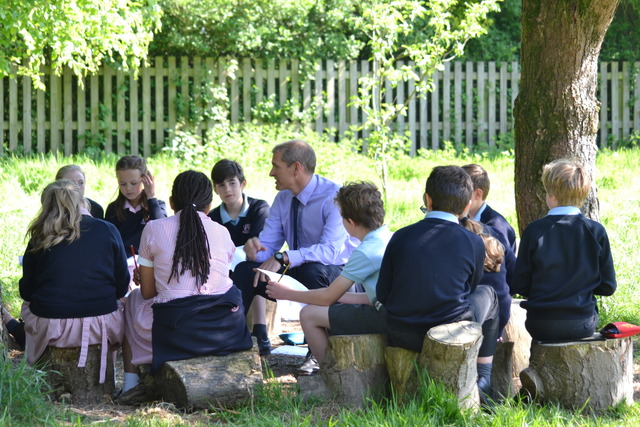 Our rural location allows our children to explore the outdoors with freedom and enjoyment