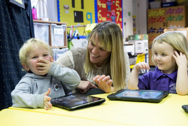 iPads in Nursery