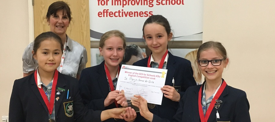 English Competition winners St Marys School for Girls