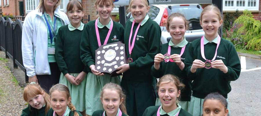 Heatherton House IAPS Swimming Gold Medallists (2)