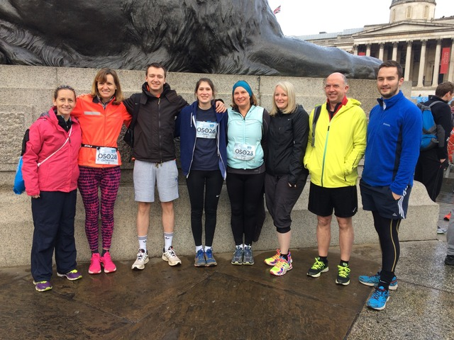 Staff 10k runners Feb 2017