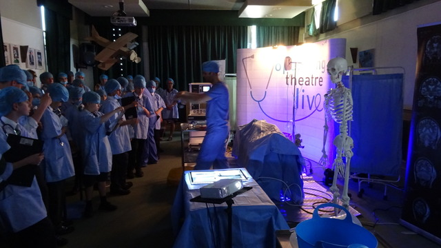 Year 7 8 & 9 Operating Theatre June 2017