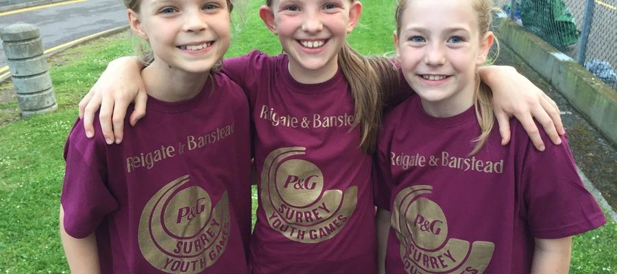 Girls netball