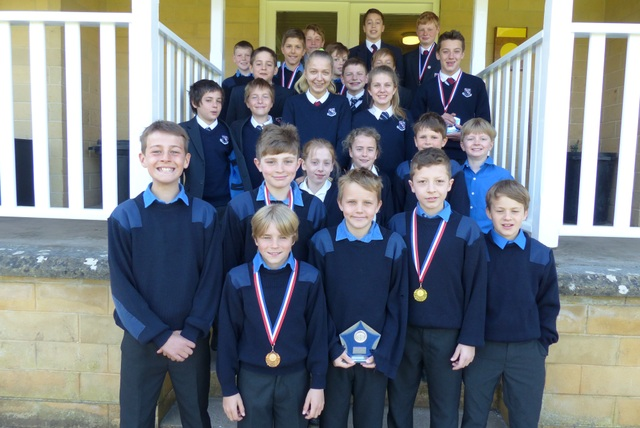 Monkton prep Biathlon Winners - April 2015