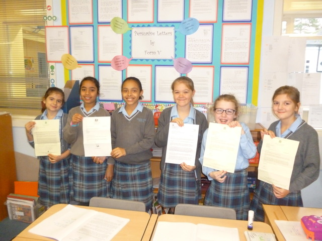 Pupils Receive Letters from No 10 and The Houses of Parliament