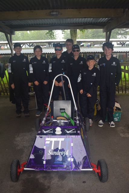 Sandroyd School take part in the annual 'Gathering of Goblins' at Goodwood