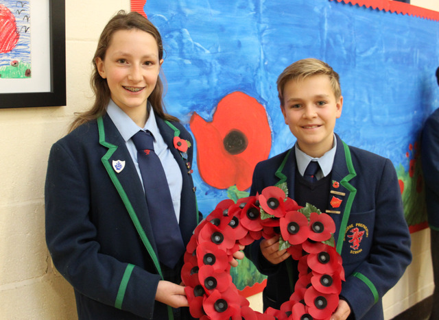 remembrance HBHG wreath