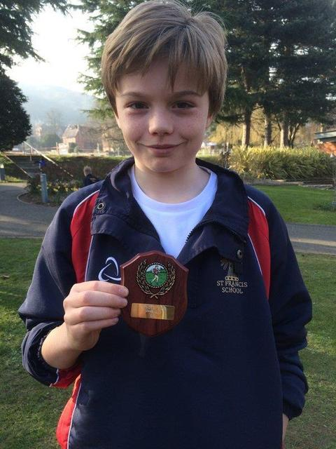 Freddie Webb 6th place IAPS National X Country Champs 2016
