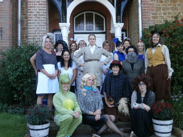 St Hilary's has a marvellous time celebrating Roald Dahl Day