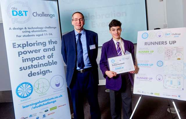 St John's School pupil announced as runner up in design competition