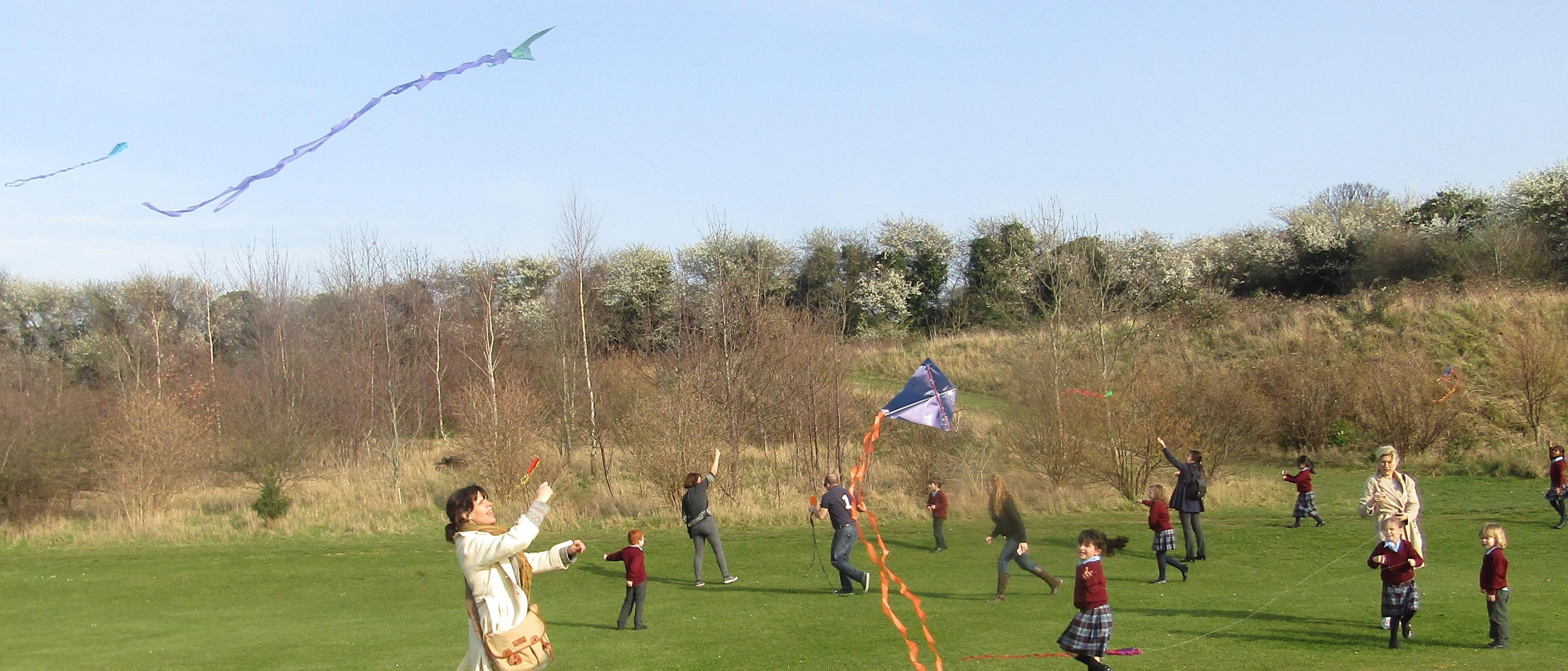 SLCJS Sharing the Learning Kites 1