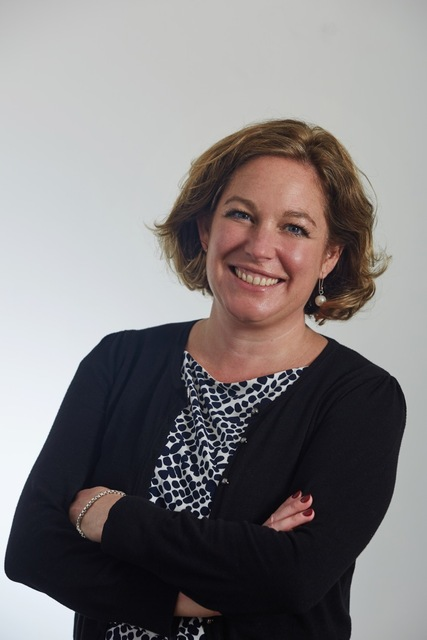 Charlotte Johnston, head of St Peter's School