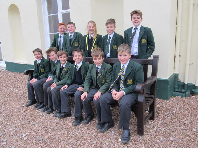 St. Peter's Prep School pupils who passed the 2017 Exeter School entrance exam (1)